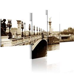 Cuadro Puente de Alejandro II en París