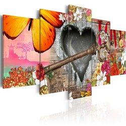 Cuadro Presagio del amor