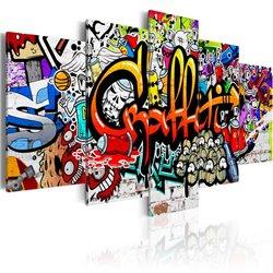 Cuadro Colourful Style