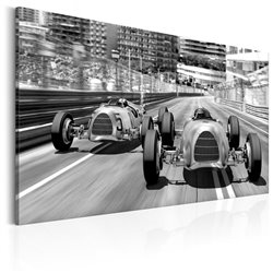 Cuadro Old Cars Racing