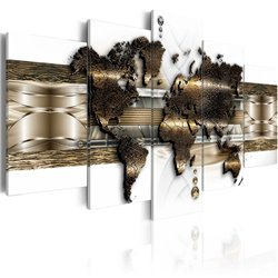 Cuadro Metalic World