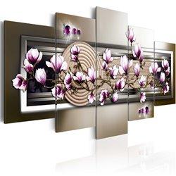 Cuadro Magnolia y zen