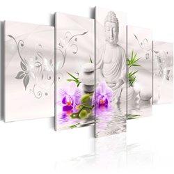 Cuadro Buda blanco