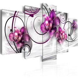 Cuadro Orquídeas y perlas