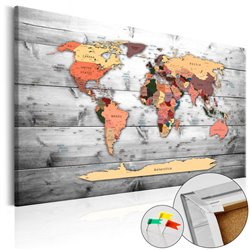 Tablero de corcho - Direction World [Cork Map]
