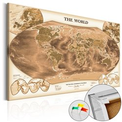 Tablero de corcho THE WORLD