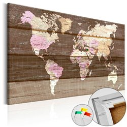 Tablero de corcho Wooden World