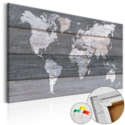 Tablero de corcho Grey Earth