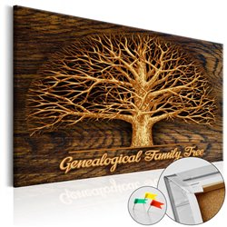 Tablero de corcho Family Tree [Corkboard]