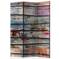 Biombo Colourful Wood