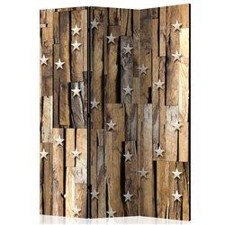 Biombo Wooden Constellation