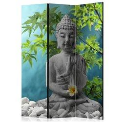 Biombo Meditating Buddha