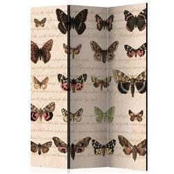 Biombo Retro Style: Butterflies