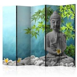 Biombo Meditating Buddha II