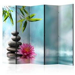 Biombo Water Lily and Zen Stones II