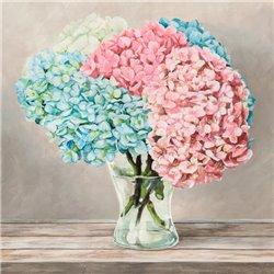 Fleurs et Vases Blanc II