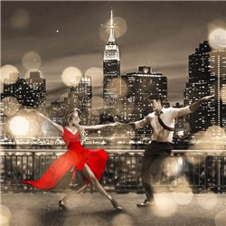 Dancin' in the Moonlight (BW, detail)
