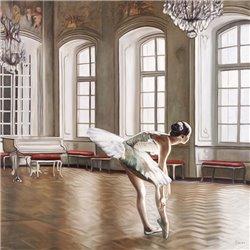 Rehearsing Ballerina