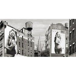 Billboards in Manhattan