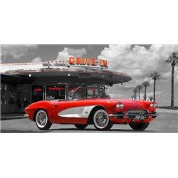 Historical diner, USA