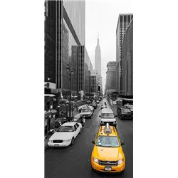 Taxi in Manhattan, NYC