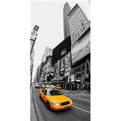 Taxi in Times Square, NYC