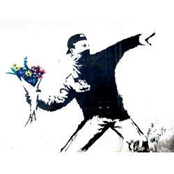 Bethlehem, Palestine (graffiti attributed to Banksy)