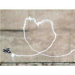 Rumford Street, Liverpool (graffiti attributed to Banksy), detail