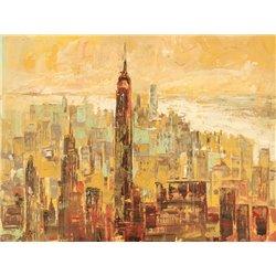Tramonto su Manhattan