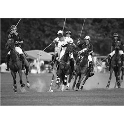 Polo players, New York