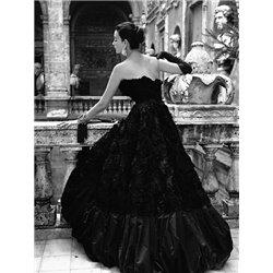 Black Evening Dress, Roma 1952 (detail)