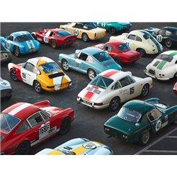 Vintage sport cars at Grand Prix, Nürburgring
