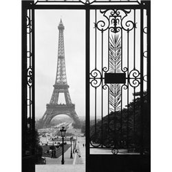 Eiffel Tower from the Trocadero Palace, Paris