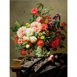 Peonies, Poppies and Roses