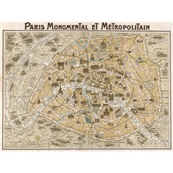 Paris Monumental et Métropolitain, 1932