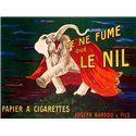 Je ne fume que Le Nil, 1912