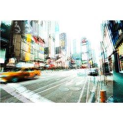 Times Square Multiexposure II