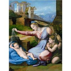 The Madonna of the Blue Diadem
