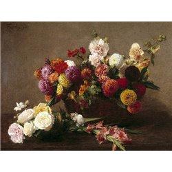 Voici des fleurs de la mi ete
