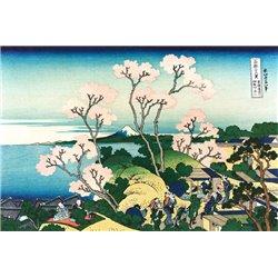 Goten-yama Hill, at Shinagawa, circa 1830