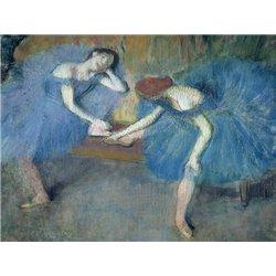 Deux danseuses au repos (detail)