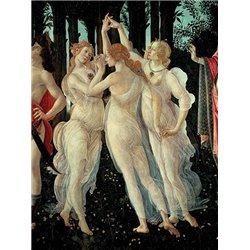 Le tre Grazie (detail of Primavera)