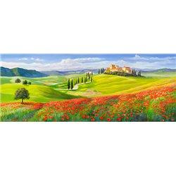 Verso il borgo in Toscana