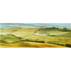 Tuscany landscape, Val d'Orcia, Italy