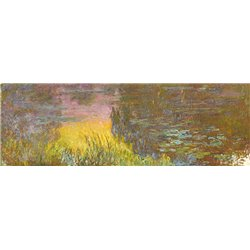 The Water Lilies - Setting Sun